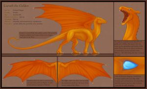 Liarath the Golden - reference sheet by TheBlack-Arrow