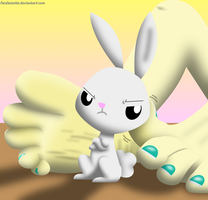 Cheer up Angel! by FacelessSoles