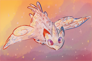 Day 5 - Favourite Flying Type by katelorr