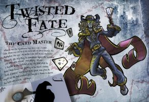 Twisted Fate: The Card Master by darkeblue