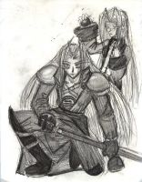Seph n Kit - Sketch by kitphiroth