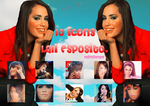 Pack 1O Icons Lali Esposito by LaliMiAngel