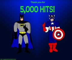 The Bat and Cap - 5K Hits by VoyagerHawk87