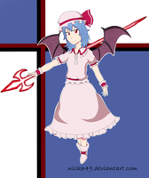 Remilia Scarlet by NickH49