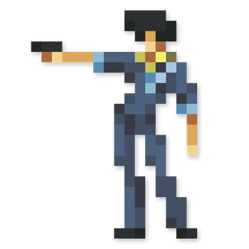 Day #169 - Spike Spiegel by JINNdev