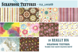 scrapbook textures by hearXtheXsirens
