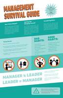 Management Survival! Information Design by Spectrumelf