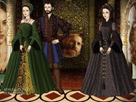 Henry VIII, KOA and AB: The Other Boleyn Girl by Nurycat