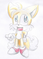 :gift: cuuute Tails by LeniProduction