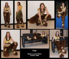 Faun Costume by dragonfyredawn