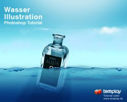 Wasser Illustration by templay-team