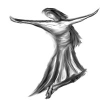 Dancer quick sketch by nizo