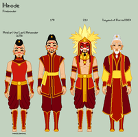 A:tLA/LoK - Hinode Reference Sheet by porcelian-doll