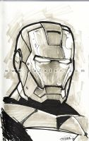Iron Man sketch by rafater