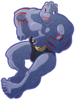 Machoke by CatchShiro