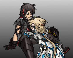 Reno-Lackey Elsword Commission by Blayaden
