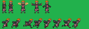 edit pain attack and run sprite by zacharyleebrown