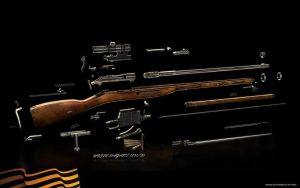 Mosin-nagant disassembled by ABiator