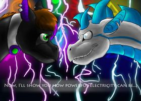 Now, I'll show you how powerful electricity can be by Sprouteeh