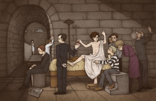 The Death of Sherlock by mutsy