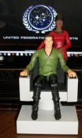 Kirk And Uhura by 80sUnleashed
