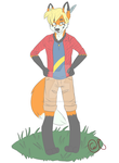 Redfox- A request from Greg.C by Redfoxbennaton