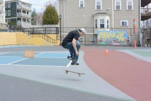 The Skateboarder Action Shot 6 by Miss-Tbones