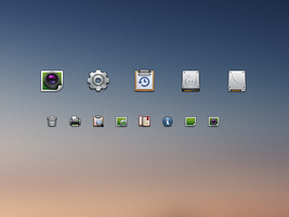 Toolbar Icons by Ashung