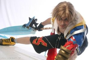 Tidus - Final Fantasy X by tiagodiemer