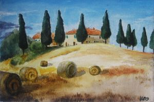 Landscape_Tuscany by pizzaplanet