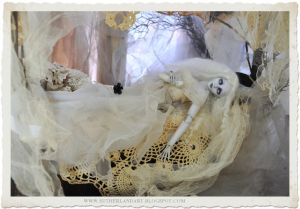 Ghostly Haunt.. Ball jointed doll by SutherlandArt