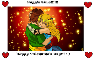 Huggle Time by Bintavivi