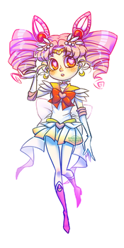 Chibi Moon by Krooked-Glasses