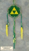 Triforce Dream Catcher by RebelATS