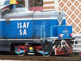 Locomotiva 85- 0163 -7 by Cipgallery