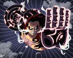 Luffy gear four by Master-Angel
