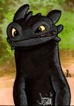 Toothless PSC Commission by ragelion