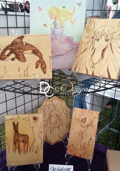 Wood Burned artwork by christi-chan