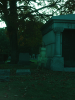 Ghost in the Cemetery by whatsername57