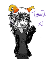 a quick fan troll doodle by Thecowgoesmoo12