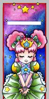 +Princess Bookmark+ -Colored- by MintKitty