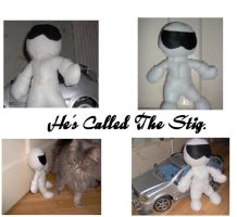 He's called The Stig by Morogo