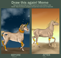 Draw this again - MEME by Hamsel