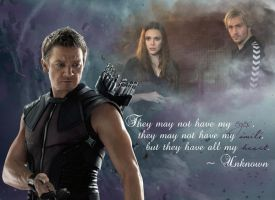 All My Heart - Hawkeye and the Twins by welsharcher