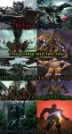 Age of Extinction and Beast Wars Cast Similarities by Fanfictionist13