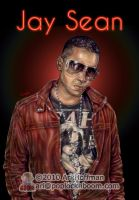 Jay Sean.... Art Work by arihoff
