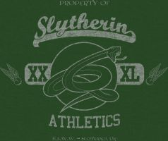 Slytherin Vintage-Look T by sircle