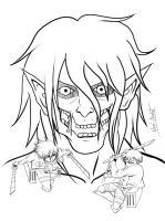 snk lineart by Nami-v