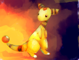 Ampharos by kiwisco