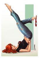 Mary Jane, M. DeBalfo by sinhalite